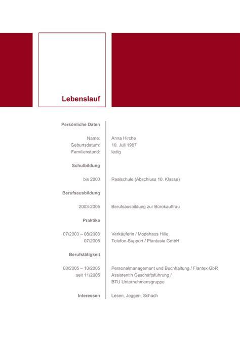 Lebenslauf Muster 2016 Kostenlos by Lebenslauf Vorlagen 2016 Kostenlos Lebenslauf Vorlagen