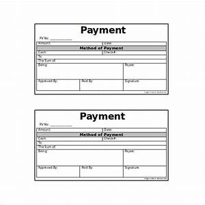 11 payment coupon templates free sample example With voucher booklet template