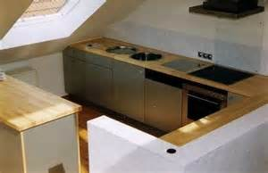küche mit schräge küche mit schräge haus design ideen