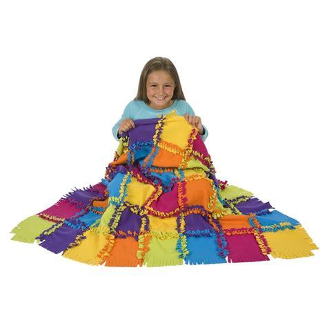 knot a quilt alex toys craft knot a quilt kit alexbrands