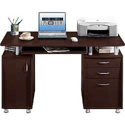 Techni Mobili Desk Staples by Techni Mobili Double Pedestal Laminate Computer Desk