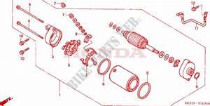 Starting Motor For Honda Vtx 1800 C 2005   Honda