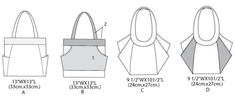 Butterick 5658 Bags And Totes