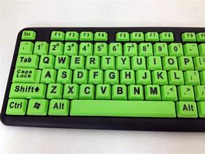 big large letters print klear keys xl 104 key usb glow With big letter keyboards computer