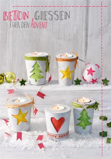 Basteln Mit Beton Zu Weihnachten by 9 Besten Weihnachtsbasteln Bilder Auf