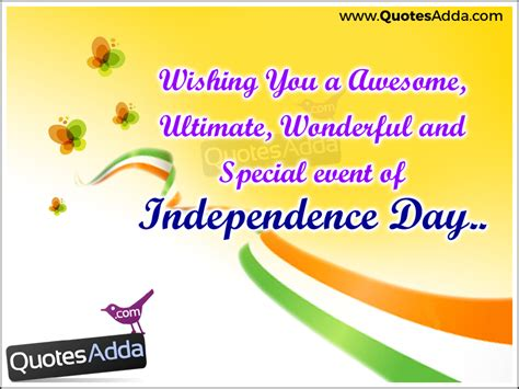 Happy Independence Day English Quotes And Wishes Images