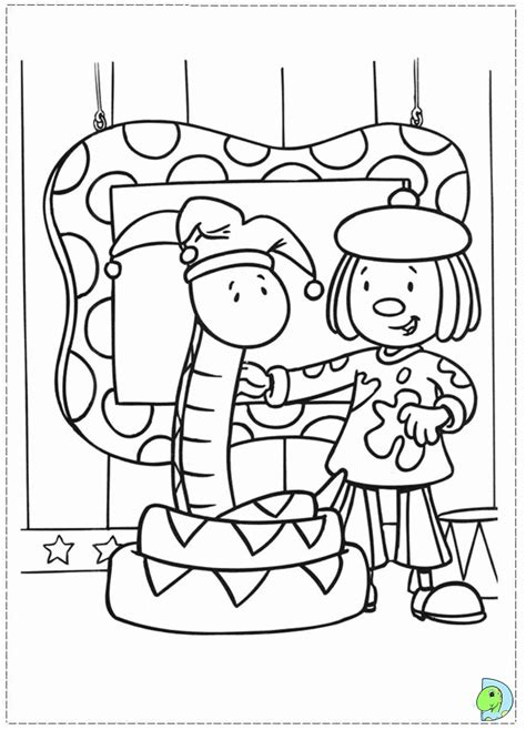 jojo circus coloring pages coloring home