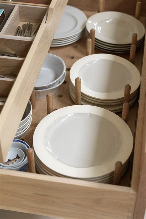 kitchen cabinet organizers for plates best 25 plate storage ideas on kitchens