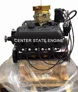 Reman Gm 4 3l  V6 Vortec Marine Engine W   Carb  Replaces Mercruiser 1997
