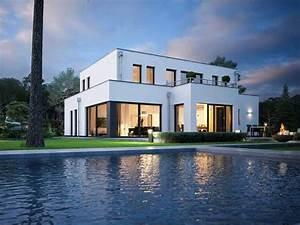 Moderne Häuser Preise : edition style city 2000 bauhaus cubus von viebrockhaus modernes massivhaus mit flachdach ~ Markanthonyermac.com Haus und Dekorationen