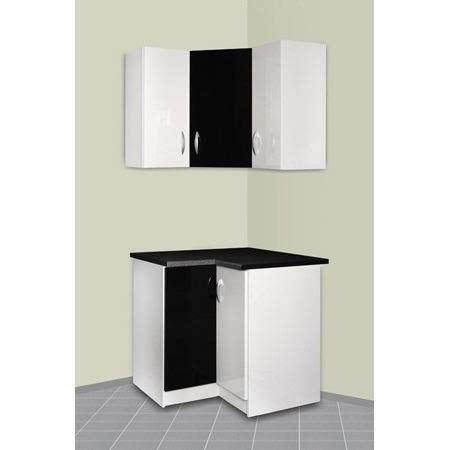 meuble d angle bas pour cuisine meuble cuisine d 39 angle haut et bas oxane achat vente finition plinthe meuble cuisine