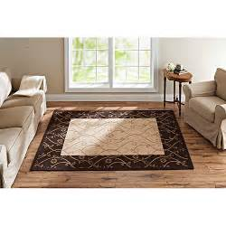better homes and gardens tulip scroll woven rug dark