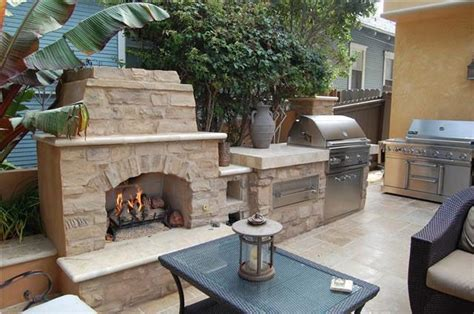 Bbq And Fireplace - built in outdoor grill designs gary bbq fireplace