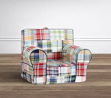 Pottery Barn Anywhere Chair Slipcover by Madras Anywhere Chair 174 Slipcover Only Pottery Barn