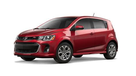 dallas cajun red tintcoat  chevrolet sonic  car