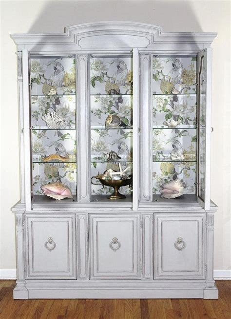 grey china cabinet 44 best images about china cabinet on painted