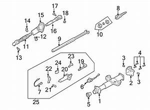 Chevrolet Tahoe Steering Column  Shift Lever  W  O Tilt