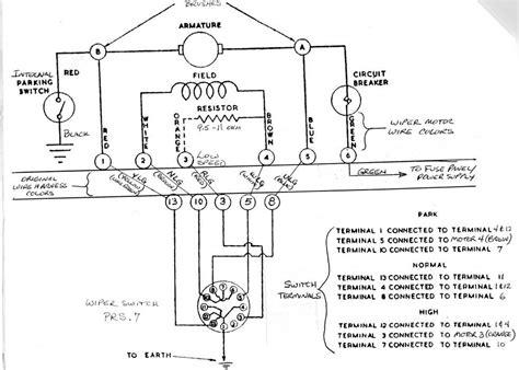 lucas dr3 wiper motor wiring diagram impremedia net