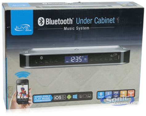 ilive ikb333s wireless under the cabinet clock radio bluetooth