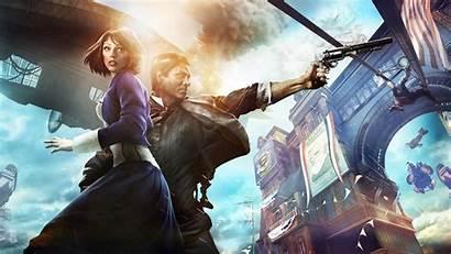 Bioshock Infinite 4k Elizabeth Booker Games Dewitt
