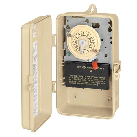 intermatic swimming pool spa timer indoor outdoor 220v