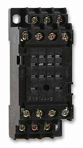 Pyf14ae Omron  Relay Socket  Din Rail  Screw