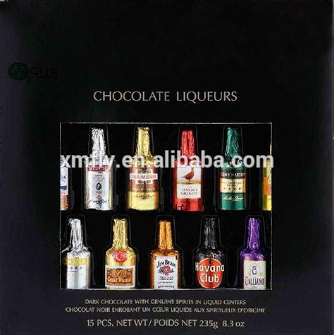 alfredo chocolate bottle 450gr truffle rhum colorful sweet bottle shape chocolate buy