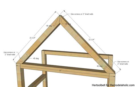 what is an a frame house remodelaholic diy house frame bookshelf plans