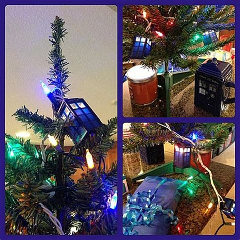 doctor who tardis christmas 9 foot long string lights on onbuy
