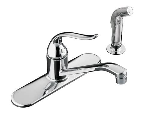 kohler kitchen sink faucet kohler coralais single kitchen sink faucet in 6690