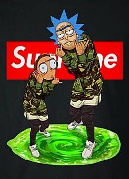 supreme  rick morty  rick  morty rick  morty