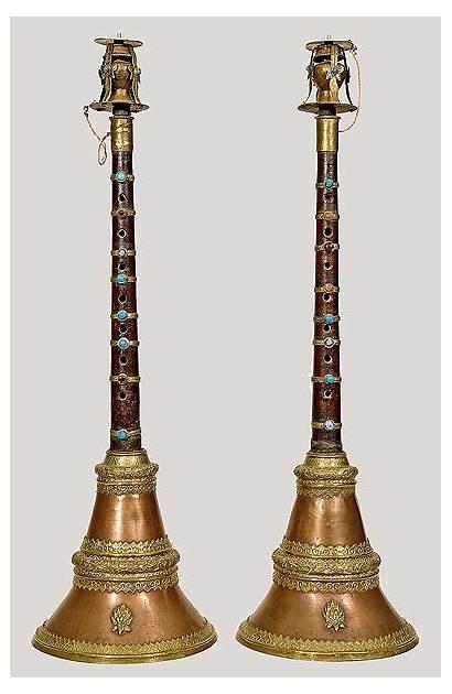 Woodwind Instrument Tibet Instruments Reed Double Brass