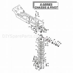 Countax X Series Rider 2010  2010  Parts Diagram  Chassis