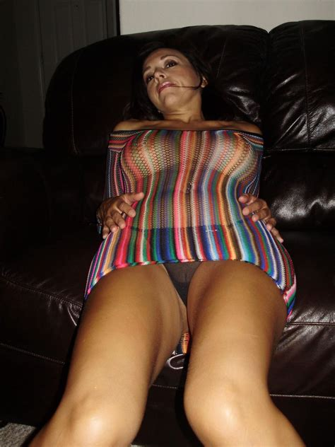 Latina MILF wife in sexy fishnet top 11 – Wife Update