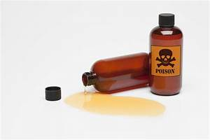 List Of Poisons And The Relative Toxicity Of Chemicals