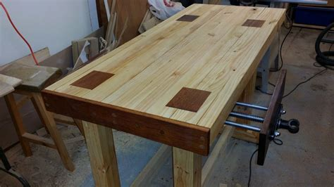 solid  cheap  workbench  steps  pictures