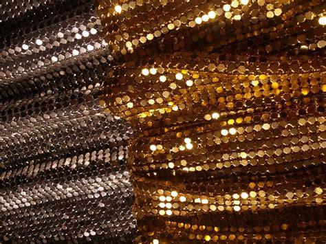 24cmx20cm metal mesh fabric metallic cloth metal sequin