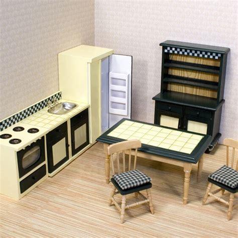 kitchen dollhouse furniture kitchen furniture set doug