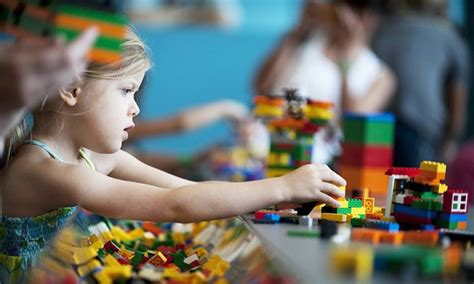 lego focuses in on children at play child in the city 959 | 4256