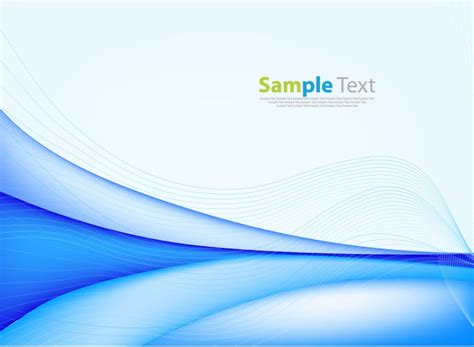 light blue wavy abstract background vector 02 vector abstract background with blue wave vector illustration