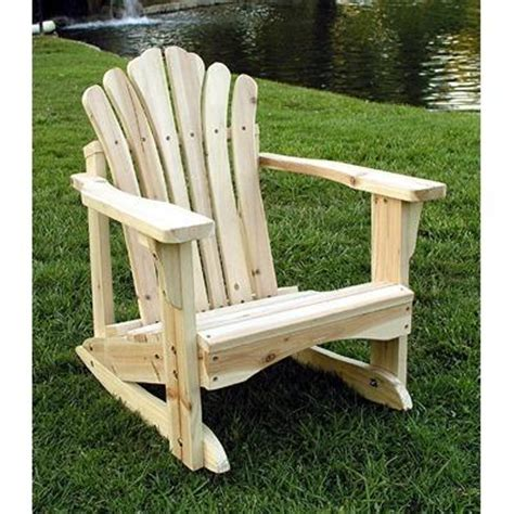 build adirondack rocking chair pdf plans how to make