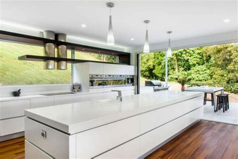architectural kitchen designs designer corian 174 k 252 che mit kochinsel modern offen und 1333