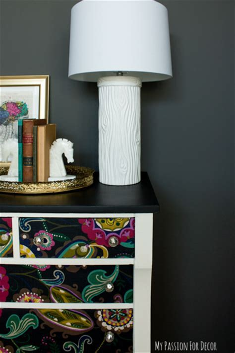 Hometalk   Dresser Makeover Using Fabric And Mod Podge