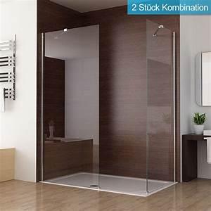 Duschwand Glas Walk In : walk in dusche duschabtrennung duschwand seitenwand nano glas 90 x 195 cm sa ebay ~ A.2002-acura-tl-radio.info Haus und Dekorationen