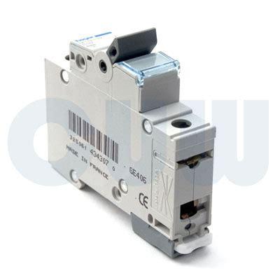 hager ndn140a mcb type d single pole 40a 10ka circuit