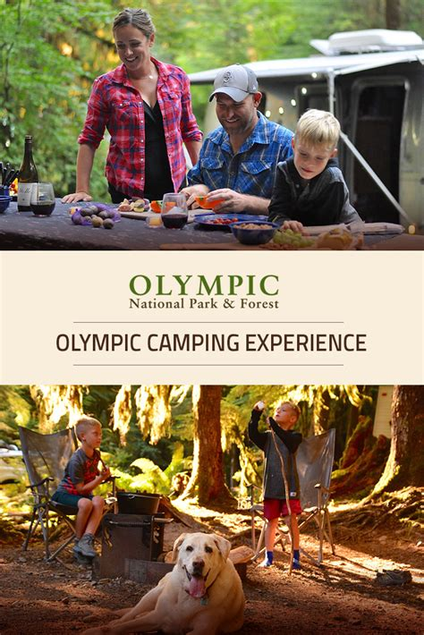 rv campground experience olympic national park