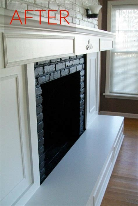 gorgeous ways  transform  brick fireplace