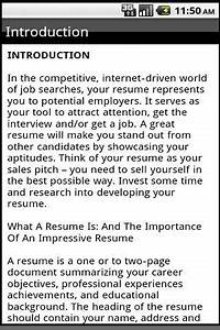 how to write a cv android apps on google play With write your resume to market yourself