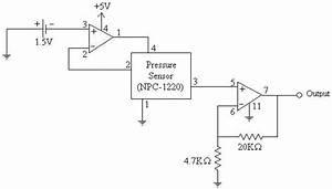 Signal Conditioning Circuit For Pressure Sensor