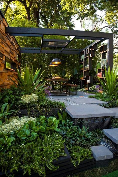 backyard landscaping ideas youll fall  love